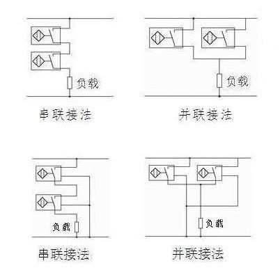 电容式料位器串并联接法